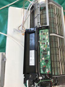 自動掃除機能付きのエアコン洗浄